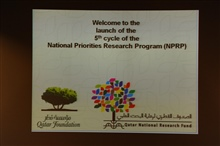 Launch of the NPRP Fifth Cycle