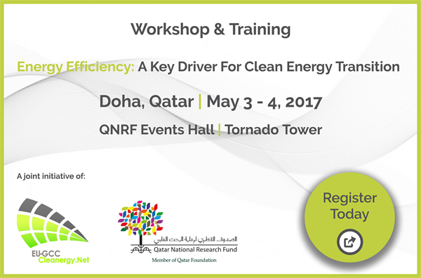 QNRF GCC-EU Clean Energy Workshop