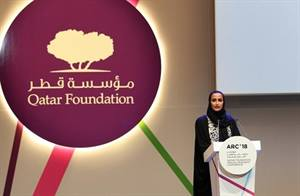 Sheikha Moza Attends Qatar Foundation Annual Research Conference 2018