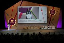 HER HIGHNESS SHEIKHA MOZA ATTENDS QATAR FOUNDATION ANNUAL RESEARCH CONFERENCE 2018 – ARC'18