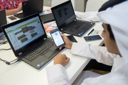 Texas A&M at Qatar partners with QCRI and QNRF to offer programming workshop for school students
