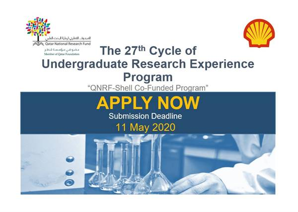 "Launch of the 27th cycle of its ""Undergraduate Research Experience Program (UREP)."""