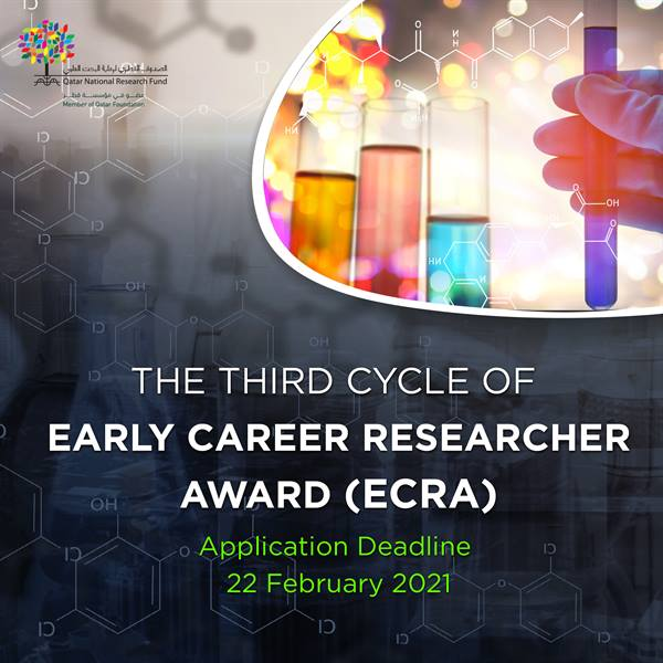 Third Cycle of Early Career Researcher Award Launched