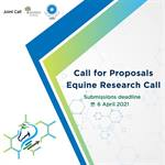 Reminder: Application Deadline for the Equine Research Call