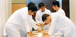 School students take part in bridge-building contest