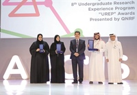 Qatar National Research Fund awards three projects by students