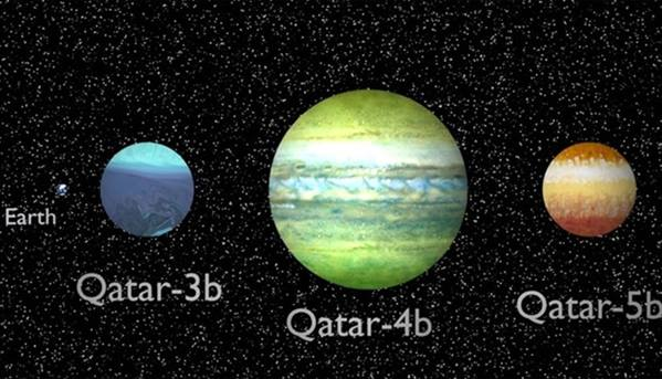 Qatar Scientists announce the discovery of three new extrasolar planets