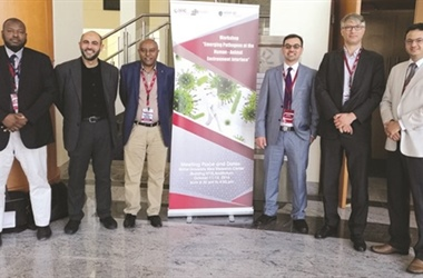 "QNRF CWSP supports ""Emerging Pathogens at the Human-Animal-Environment Interface"""